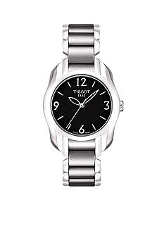 Tissot T-Wave Round Women's Black Quartz Trend Watch