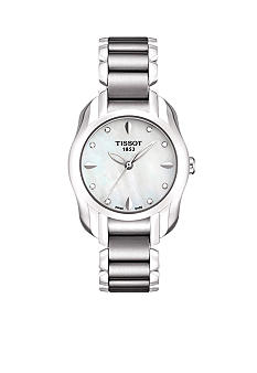 Tissot White Mother Of Pearl Diamonds Quartz Trend Watch