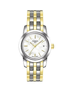 Tissot Classic Dream Women's White Mother Of Pearl Quartz Steel Watch