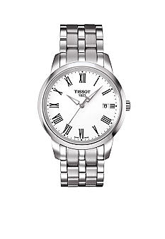 Tissot Classic Dream Men's White Quartz Stainless Steel Watch