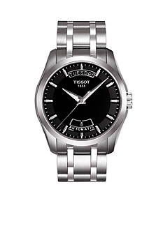 Tissot Couturier Men's Black Automatic Trend Watch