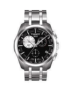 Tissot Couturier Men's Black Quartz Trend Watch