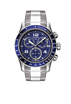 Tissot V8 Men's Blue Quartz Chronograph Sport Watch