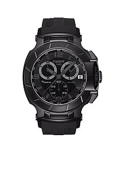 Tissot T-Race Men's Black Quartz Chronograph Sport Watch