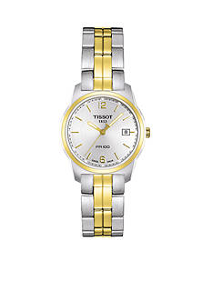Tissot PR100 Women's Silver Quartz Watch
