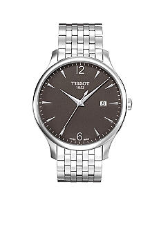 Tissot Tradition Men's Anthracite Quartz Classic Watch