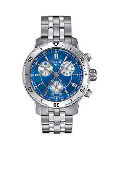 Tissot Men's PRS 200 Stainless Steel and Blue Watch