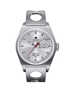 Tissot PR 516 Men's Silver Automatic Heritage Watch