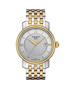 Tissot Men's Bridgeport Quartz Two-Tone Stainless Steel Bracelet Watch