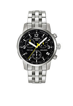 Tissot Men's Black Quartz Chronograph Classic Watch