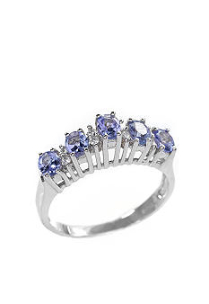 Belk & Co. Sterling Silver Tanzanite Ring