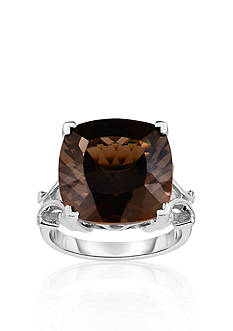 Belk & Co. Sterling Silver Smokey Quartz Ring