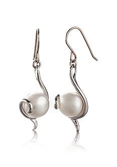 Belk & Co. Sterling Silver Freshwater Pearl Earrings