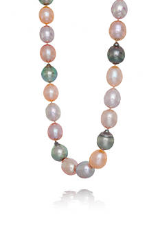 Belk & Co. Multicolor Freshwater Pearl and Tahitian Pearl Necklace