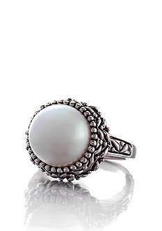 Belk & Co. Sterling Silver Freshwater Pearl Ring