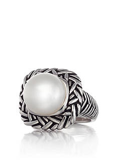 Belk & Co. Sterling Silver Freshwater Pearl Ring