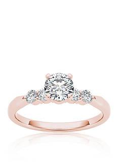 Belk & Co. 1/2 ct. t.w. Diamond Engagement Ring in 14k Rose Gold
