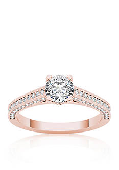 Belk & Co. 1 1/4 ct. t.w. Diamond Solitaire Engagement Ring in 14k Rose Gold