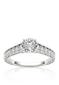 Belk & Co. 1 1/5 ct. t.w. Diamond Engagement Ring in 14k White Gold