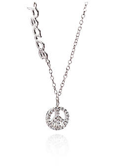 Belk & Co. Platinum Plated Sterling Silver Cubic Zirconia