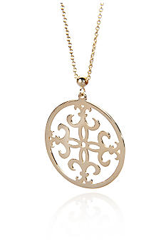 Belk & Co. 14k Medallion Pendant