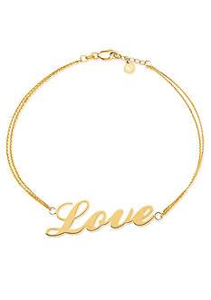 Belk & Co. 14k Yellow Gold Love Bracelet