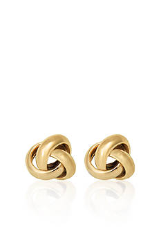 Belk & Co. 10k Yellow Gold Love Knot Stud Earrings