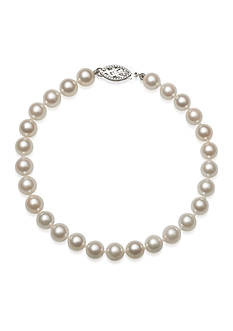 Amour de Pearl 6-6.5-mm. Akoya Pearl Bracelet in 14k White Gold
