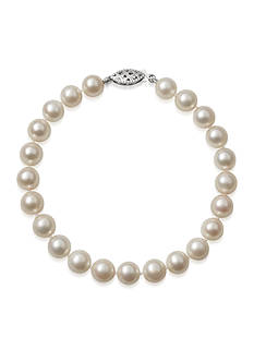Amour de Pearl 7-7.5-mm. Akoya Pearl Bracelet in 14k White Gold
