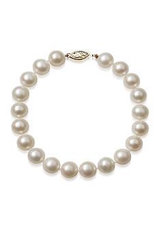 Amour de Pearl Freshwater Pearl Bracelet in 14k Yellow Gold