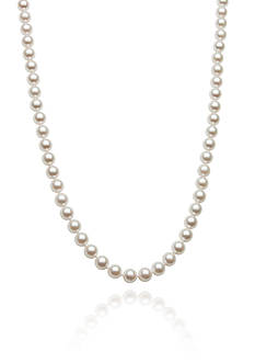 Amour de Pearl 5.50-6-mm Akoya Pearl Necklace in 14k Yellow Gold