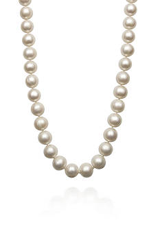 Amour de Pearl Freshwater Pearl Necklace in 14k Yellow Gold