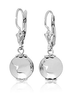 Belk & Co. Sterling Silver Polished Bead Dangle Earrings