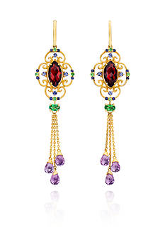 Le Vian® 14k Honey Gold™ Multi Gemstone Earrings