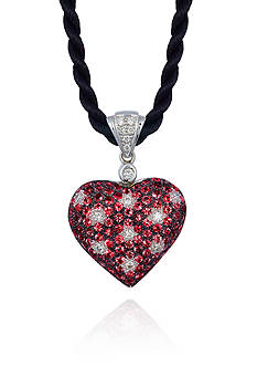 Le Vian® 14k Vanilla Gold® Passion Ruby™ and Vanilla Diamond® Heart Pendant