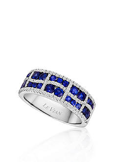 Le Vian® 14k Vanilla Gold® Blueberry Sapphire™ and Vanilla Diamond® Band