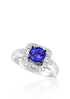 Le Vian® 14k Vanilla Gold™ Blueberry Tanzanite™ and Vanilla Diamond™ Ring