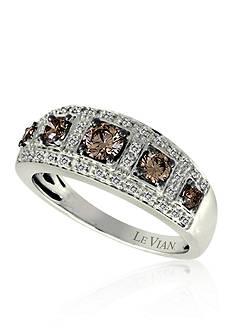 Le Vian Chocolate Diamond® and Vanilla Diamond® Band in 14k Vanilla Gold®