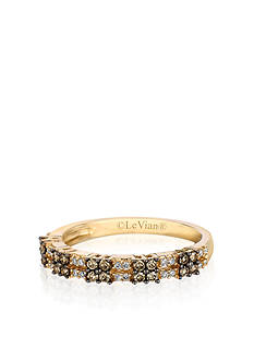 Le Vian Chocolate Diamond® and Vanilla Diamond® Band in 14k Honey Gold™