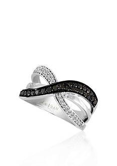 Le Vian Blackberry Diamond® and Vanilla Diamond® Band in 14k Vanilla Gold®