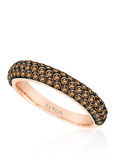 Le Vian Chocolate Diamond® Band in 14k Strawberry Gold®