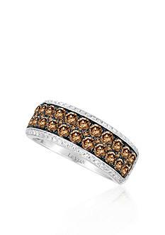 Le Vian Chocolate Diamond® and Vanilla Diamond™ Band in 14k Vanilla Gold™