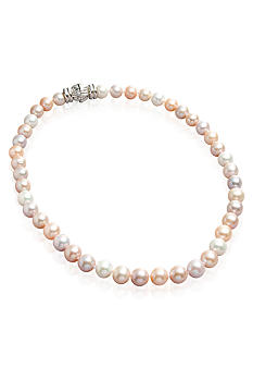 Belk & Co. Freshwater Pearl Multi Color 18-in. Necklace