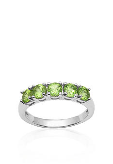 Belk & Co. Sterling Silver Peridot Ring