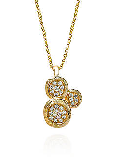 Effy Diamond Pendant in 14k Yellow Gold