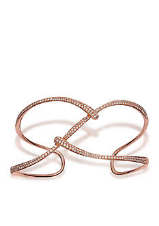 Effy Open Diamond Cuff in 14k Rose Gold