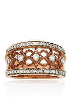 Belk & Co. Diamond Ring in 10k Rose Gold
