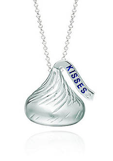 Belk & Co. Diamond Hershey's Kiss Pendant in Sterling Silver