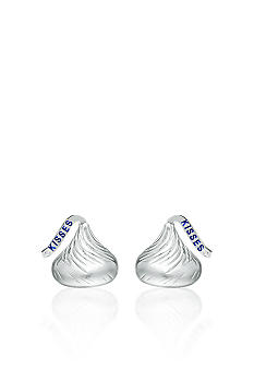 Belk & Co. Sterling Silver Diamond Accent Hershey's Kiss Small Stud Earrings