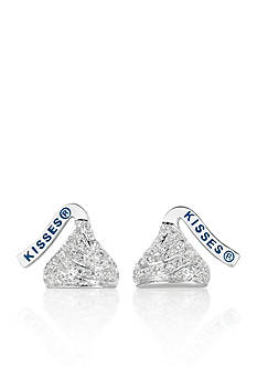 Belk & Co. Diamond Hershey's Kiss Stud Earrings in Sterling Silver